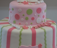 Baby Shower Pink and Green