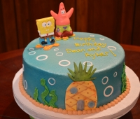 Spongebob and Pineapple House