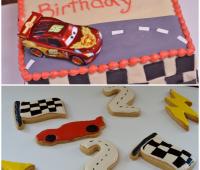 Cars cookies n cake