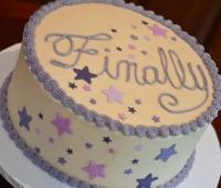 Finally Grad Cake