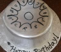 Steel Drum Cake