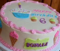 Sweets 6th Birthday