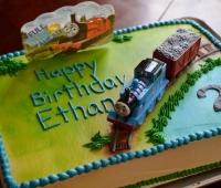 Thomas 2nd birthday
