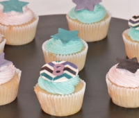 Rock Star Party Cupcakes