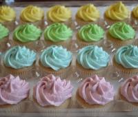 Spring Pastel Cupcakes