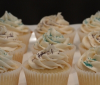 Cupcakes with Sparkle Sugar