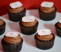 Carnival Ticket Cupcakes